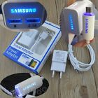 LED Travel Wall/Car Charger + Micro USB Cable for Samsung Galaxy Note 5 4 S5 S6