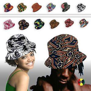 KB-Ethos-Bucket-Fashion-Print-Hat-Cap-Unisex-New-Cotton-Easy-ONE-SIZE-FIT