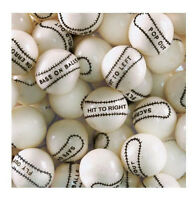 Baseball Gumballs Bulk Vending 1 24mm 1 Pound Approx 55 Gum Balls
