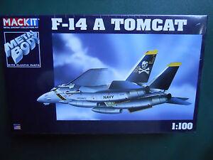 ARMOUR-FRANKLIN-MINT-MACKIT-KIT-METAL-1-100-AVION-F-14-A-TOMCAT-MIB