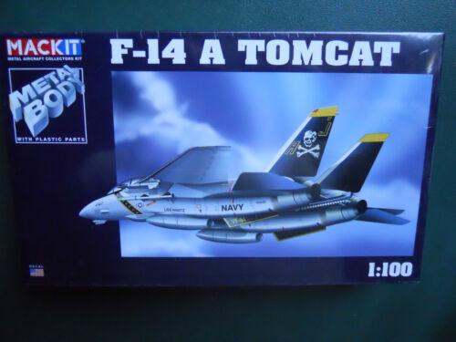 ARMOUR FRANKLIN MINT MACKIT KIT METAL 1//100 AVION F-14 A TOMCAT MIB
