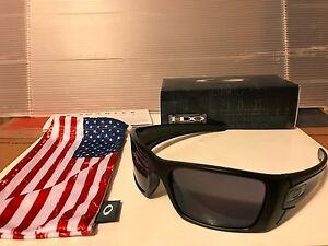 747dfe69f0a Image is loading NEW-Oakley-Si-Fuel-Cell-Sunglasses-Matte-Black-