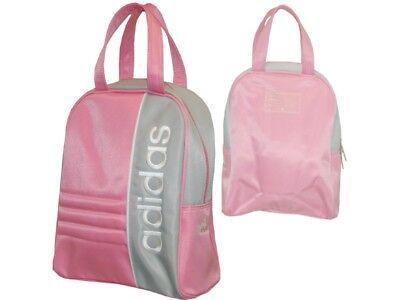 Espressive Adidas Bowlingbag Rosa Ragazze Da Donna A Tracolla Borsetta Circa 30x25x10cm-