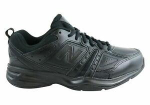 NEW-NEW-BALANCE-MENS-MX409BK2-LEATHER-BLACK-CROSS-TRAINING-SHOES-2E-WIDE-WIDTH