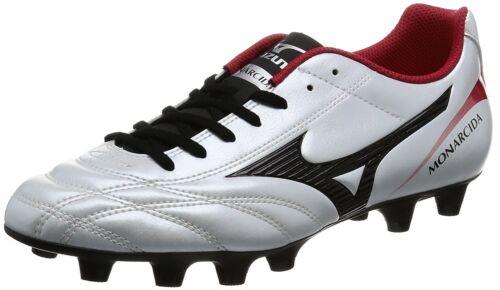 MIZUNO Soccer Football Spike MONARCIDA 2 FS MD White Black Red US10 28cm