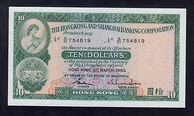 HONG KONG 50 DOLLARS 1998 P 286 UNC