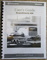 Husqvarna Viking Scandinavia 400 Owners Users Guide Instruction Manual Book