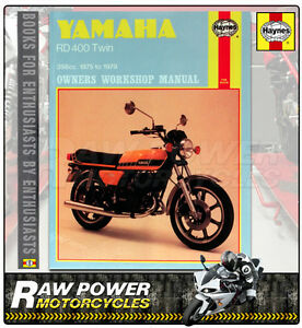 yamaha rd400 twin 75 79 haynes manual 0333 ebay rh ebay co uk 1977 yamaha rd400 service manual 1977 yamaha rd400 service manual