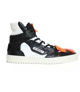 a90c0e96e8f0a8 OFF-WHITE Low 3.0 high-top sneakers by Virgil Abloh Sz 36
