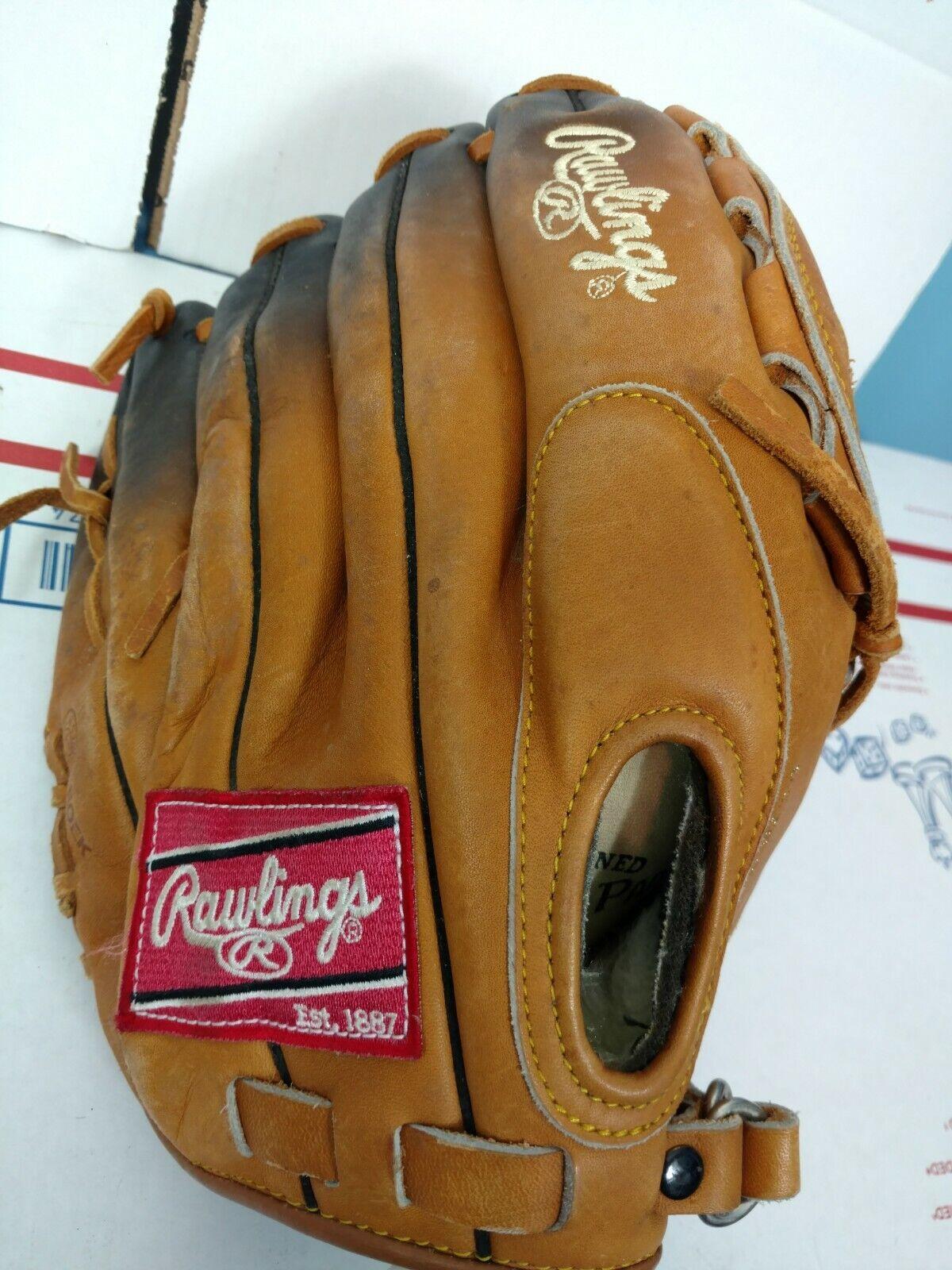 Rawlings destaCoche la serie  HL1000 12 pulgadas mano izquierda Guante De Béisbol De oro, lanzador de mano derecha  tienda en linea