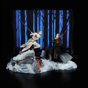 Rey Kylo The Black Series STAR WARS SDCC Exclusive Starkiller Base Working Light