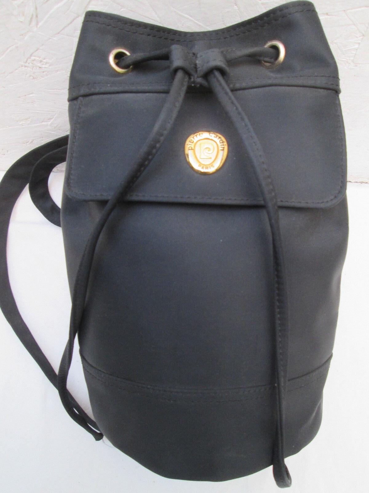 -AUTHENTIQUE  sac à dos neuf mono-bretelle PIERRE voitureDIN   toile   vintage sac