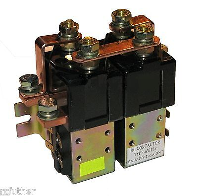 Solenoid 72V Albright SW182 Style Reversing Contactor