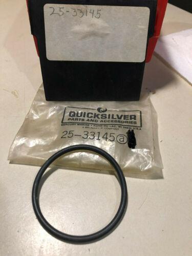 1 Mercury Mariner Quicksilver Mercruiser OEM new 25-33145 o ring Parker