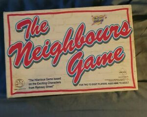 The-Neighbours-game-1988-Board-game-with-box-VGC