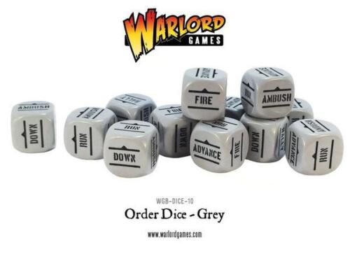 Bolt Action Order Dice Grey WGB-DICE-10 12