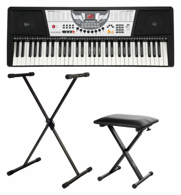 Digital 54 Tasten Einsteiger Keyboard E-Piano Klavier 100 Sounds 100 Rhythmen
