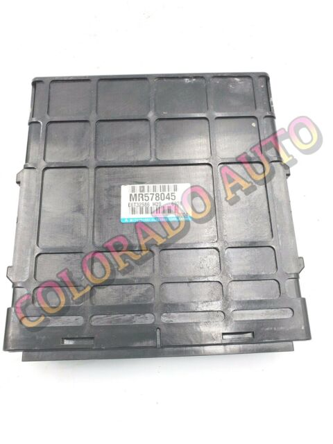 02 Mitsubishi Montero Sport 4x4 ECU ECM Engine Computer Key Immobilizer  MR578045