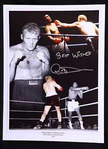 New-Richard-Dunn-Signed-12x16-Boxing-Montage