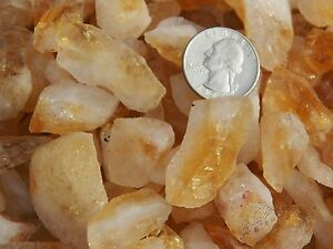 2000-Carat-Lots-of-Citrine-Points-Rough-Plus-a-FREE-Faceted-Gemstone