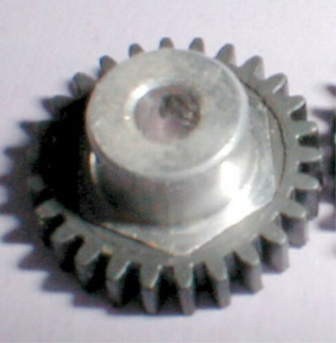26 Tooth Cox Coxaloy Spur Gear Set Screw Type 48 Pitch 1/8 Axle Slot Car NOS