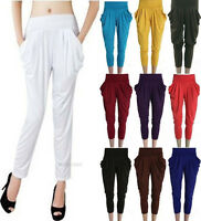 Fashion Women's Stretch Hip-Hop Colorful Drape Harem Pants Spring Trousers Hot