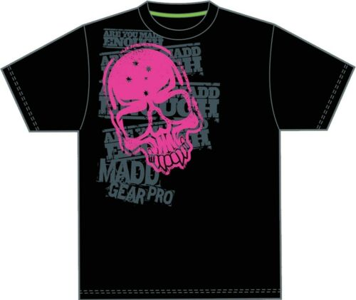 Corpo Skull Pink Was £19.95 Madd Gear MGP Kids T-Shirt From Madd Gear Scooters