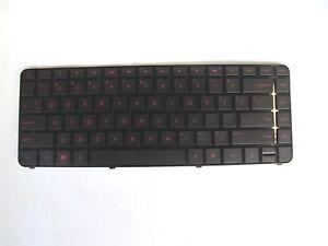 New-Keyboard-Black-US-With-Frame-For-HP-Pavilion-DM4-3000-Red-Back-light-Frame