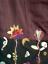 Femme Rayonne Violet Gilet Floral Pong Violet 8 Taille Brodé Ltd Poco 10 Coton dwzOx