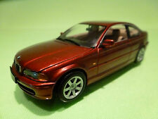 MINICHAMPS  BMW 318 Ci COUPE - RED E46 1:43 - RARE SELTEN - EXCELLENT