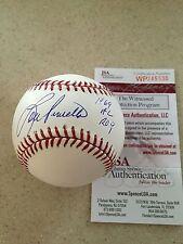 """Lou Piniella Autographed Signed MLB Baseball1969 AL ROY"""" JSA WP COA Nice!!!!!"""