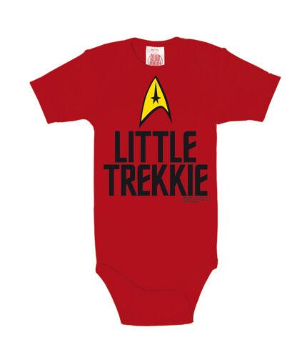 rot Star Trek USS Enterprise Little Trekkie Baby Body Strampler LOGOSHIRT