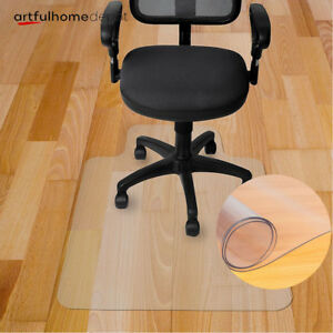 New 10 Types Chair Floor Mat Carpet Protector Rug Pvc Hard Plastic Home Office Ebay