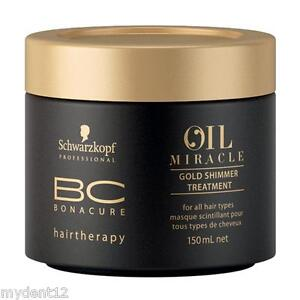 Schwarzkopf-BC-Bonacure-Hair-mask-Oil-Miracle-Gold-Shimmer-Treatment-150ml-x-2