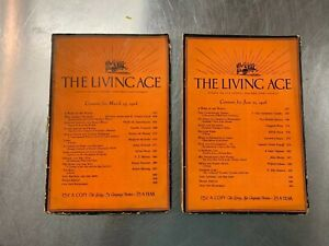 2-issues-of-The-Living-Age-Magazine-1926-Great-articles-stories-poems-review