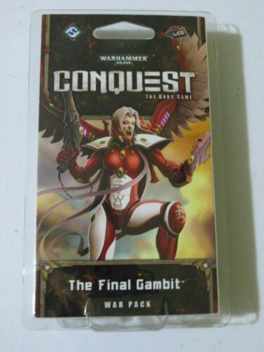 Warhammer 40k The Final Gambit War Pack (60 cards) Conquest Card Game LCG 40,000