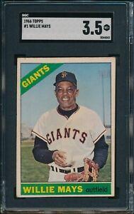1966-Topps-Baseball-Willie-Mays-1-SGC-3-5-GIANTS-HOF