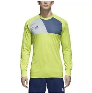 Details about adidas Assita 17 Goalkeeper Jersey Padded Long Sleeve CV7750 Green XL B36