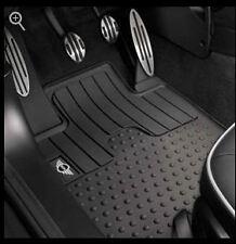 Mini Cooper 2007-2013 Hardtop R56 Rubber Mats Floormats Set Of 2 Front OEM