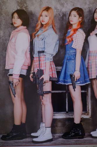 Twice Gun Pose Elsword Season 3 K-Pop Girl Music Band Group Poster 24X36 New