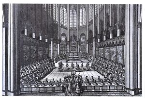 New-Art-Postcard-Choir-of-NOTRE-DAME-of-Paris-1669-Te-Deum-by-Jean-Marot-96O