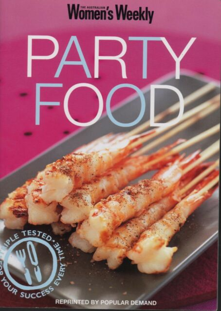 Women's Weekly - PARTY FOOD - Mini Cookbook - SC - LIKE NEW CONDITION