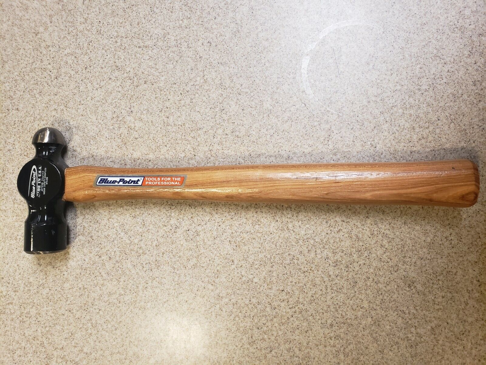 Blue Point 20 Inch 78 Oz Dead Blow Hammer B78b For Sale Ebay 48oz highvisual dead blow hammer model: blue point by snap on ball peen hammer bp20b usa 20oz hickory handle