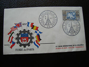 FRANCE-enveloppe-9-6-1957-foire-de-paris-cy88-french