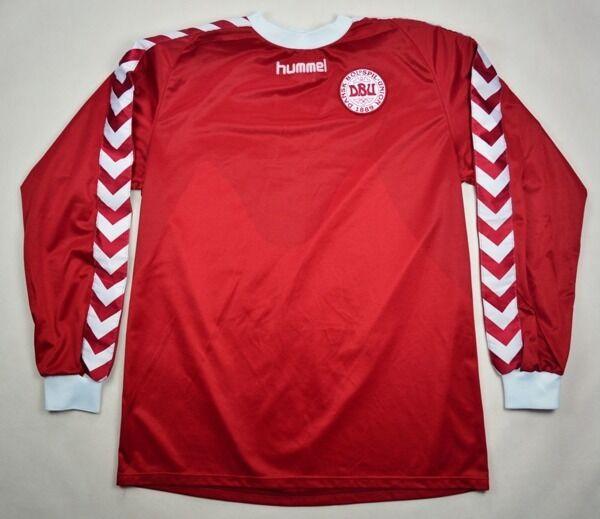 Hummel 2002-03 DENMARK LONGSLEEVE SHIRT XXL Shirt Jersey Kit