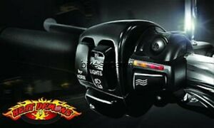 New-Heat-Demons-Grip-Heater-Harley-Black-Left-Clutch-Mount-All-Models-amp-Bar-Si