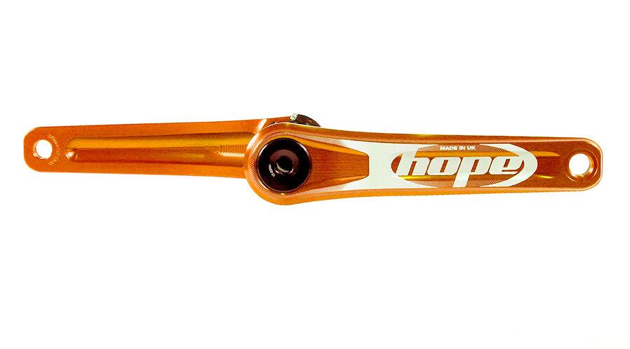 Hope Crankset 170mm Crank Arms 30mm Axle 140mm 6873mm w Tools arancia New