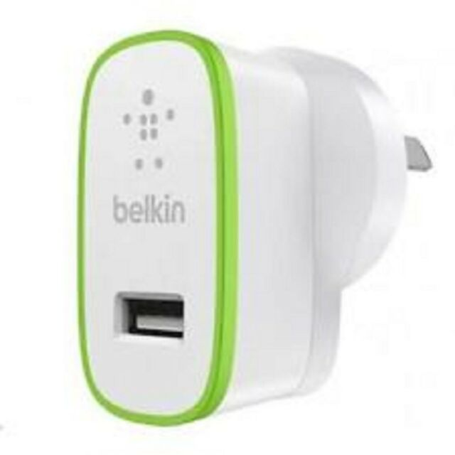 BELKIN BOOST IT UP 2.4A HOME CHARGER WHITE - 2.4 A(USB (POWER ONLY))