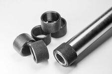 FP3M muzzle brake Gl0ck metric 16-1LH 45 Stainless Steel Thread Protector FLUTED