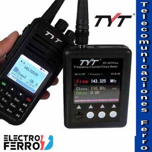 TYT SF-401 PLUS, Frecuencímetro + TYT MD-UV380 GPS Doble Banda GPS